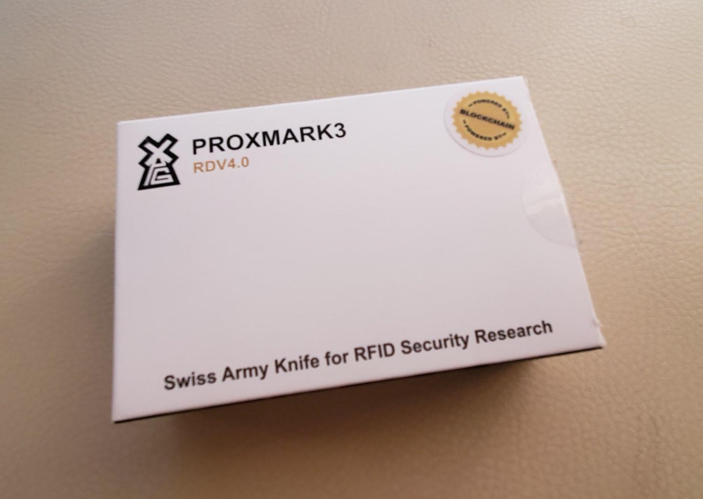 Proxmark3 Box.